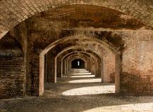 砖成拱形#1 免版税图库摄影