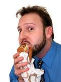 1 4中断工作午餐 免版税库存图片