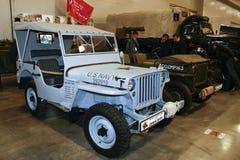 1 4 4x4陆军浅滩gpw吉普吨 库存图片