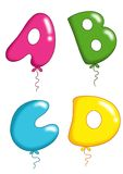 Μπαλόνια 1 παιχνιδιών αλφάβητου Στοκ εικόνα με δικαίωμα ελεύθερης χρήσης