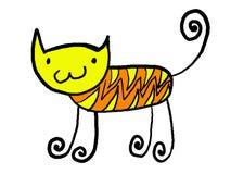 1 кот Стоковое Фото