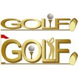 高尔夫球1 库存照片