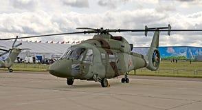 1 60 heliicopter kamov 免版税库存照片