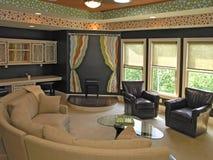 1 7 luksusu melin pokój Fotografia Stock