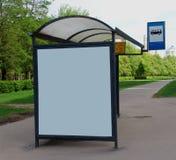1 στάση λεωφορείου Στοκ φωτογραφία με δικαίωμα ελεύθερης χρήσης
