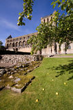 1 abbeyjedburgh Royaltyfri Fotografi