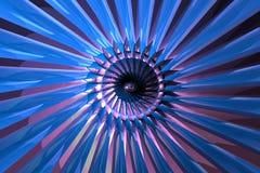 1 abstrakcyjna turbiny Zdjęcia Royalty Free