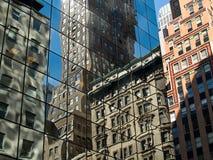 1 abstrakcyjne miasta Fotografia Royalty Free