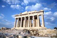 1 acropolis Royaltyfria Bilder