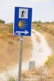 (1) żadny pielgrzymi znak Zdjęcia Royalty Free