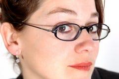 1 affärskvinna Fotografering för Bildbyråer