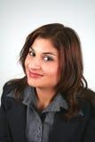 1 affärskvinna Arkivfoto