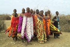 1 afrikanska folk Royaltyfria Bilder