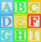1 alfabet Royaltyfria Bilder