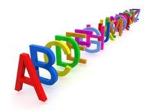 1 alphabet Images libres de droits