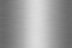 (1) aluminium szczotkujący talerz Zdjęcie Royalty Free