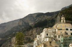 1 amalfi cityscapes italy Royaltyfria Foton