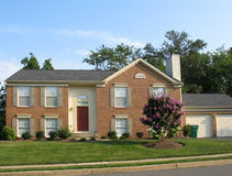 1 amerykański dom Obrazy Royalty Free