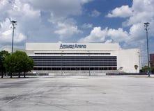 (1) amway arena oczekuje rozbiórkowego Orlando Obraz Royalty Free