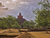 1 anuradhapurajethawanarama Arkivfoto