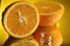 #1 arancione Fotografia Stock