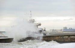 (1) Aras ładunku suchy statku shipwreck cierpienie Zdjęcie Stock