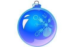 1 arbre de décorations de Noël Images libres de droits