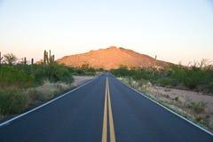1 arizona väg Arkivbild