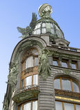 1 arkitektur petersburg Arkivbild