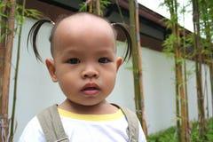 1 asiatiska barn Fotografering för Bildbyråer
