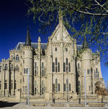 1 astorga παλάτι s επισκόπων Στοκ εικόνα με δικαίωμα ελεύθερης χρήσης