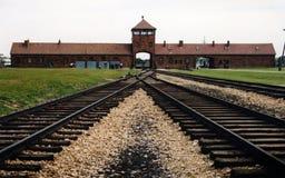 1 auschwitz Στοκ φωτογραφίες με δικαίωμα ελεύθερης χρήσης
