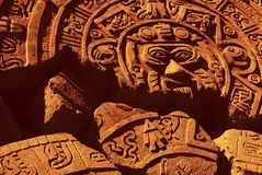 1 Aztèque Photo libre de droits