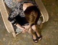 (1) bólowa kobieta Fotografia Royalty Free