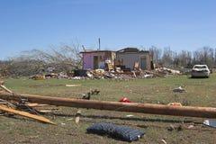 1 b szkody tornado. Obrazy Stock
