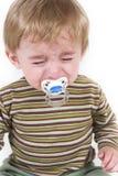 1 baby upset Στοκ εικόνα με δικαίωμα ελεύθερης χρήσης