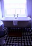 1 badrum fotografering för bildbyråer