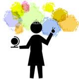1 bal królową świata pokoju ilustracji