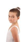 1 balettkameradansare little som ler Arkivfoton
