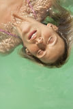 1 bali плавая надземный портрет Стоковое Изображение RF