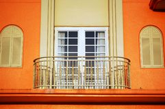 1 balkong Royaltyfri Foto