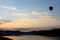 1 balonu krajobrazu Obrazy Stock