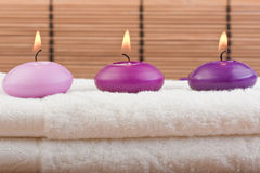 1 bamboo massage spa Στοκ φωτογραφία με δικαίωμα ελεύθερης χρήσης