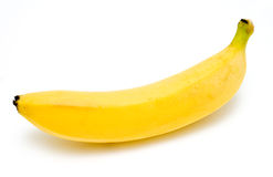 1 banane neuve Image libre de droits
