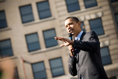 1 baracka Obamy Fotografia Stock