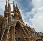 (1) Barcelona familia los angeles Sagrada Fotografia Stock