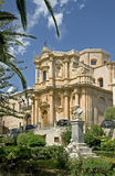 (1) barokowy kościelny ładny Fotografia Royalty Free