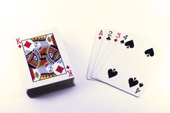 (1) bawić się kart Obraz Stock