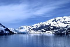 1 bay glacier Στοκ εικόνες με δικαίωμα ελεύθερης χρήσης
