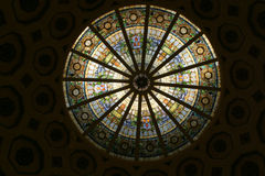 1 befläckte cirkelexponeringsglas Royaltyfri Bild